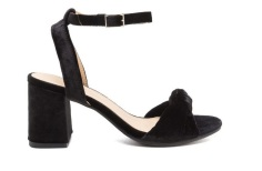 Strappy Velver Sandals